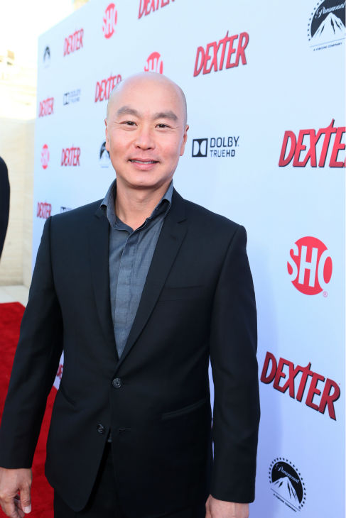 C.S. Lee &#40;Masuka, seasons 1-8&#41; appears at Showtime&#39;s premiere of &#39;Dexter&#39; season 8 in Los Angeles on June, 15, 2013. <span class=meta>(Eric Charbonneau &#47; Invision for Showtime)</span>