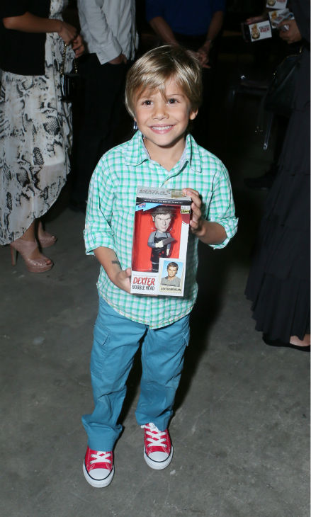Jadon Wells &#40;Harrison, season 8&#41; appears at Showtime&#39;s premiere of &#39;Dexter&#39; season 8 in Los Angeles on June, 15, 2013. <span class=meta>(Eric Charbonneau &#47; Invision for Showtime)</span>