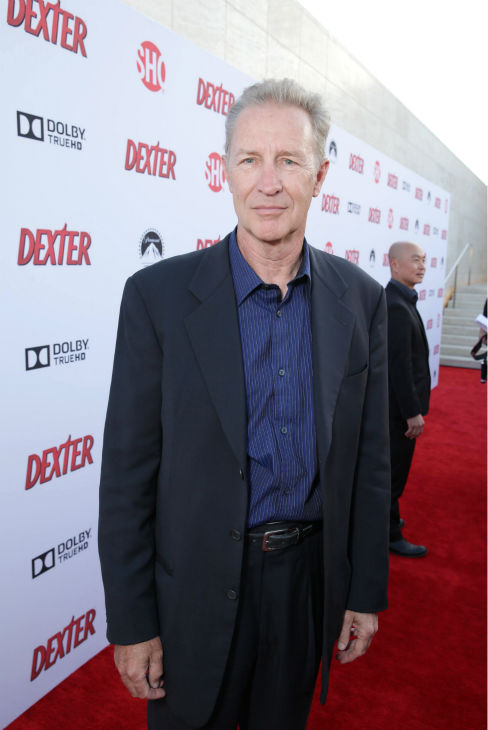 "<div class=""meta ""><span class=""caption-text "">Geoff Pierson (Capt. Tom Matthews, seasons 1-8) appears at Showtime's premiere of 'Dexter' season 8 in Los Angeles on June, 15, 2013. (Eric Charbonneau / Invision for Showtime)</span></div>"
