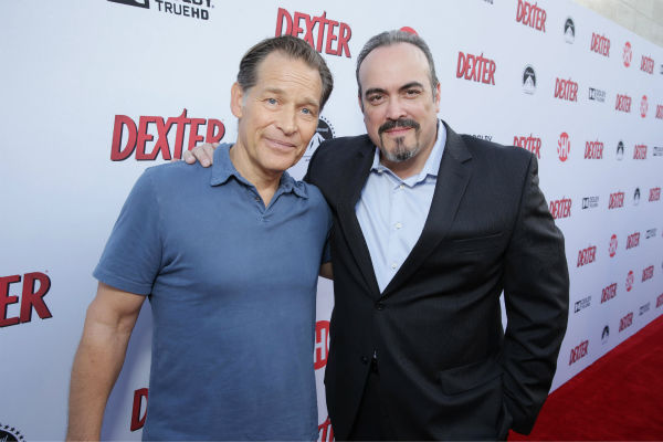James Remar and David Zayas &#40;Harry and Sgt. Batista, seasons 1-8&#41; appear at Showtime&#39;s premiere of &#39;Dexter&#39; season 8 in Los Angeles on June, 15, 2013. <span class=meta>(Eric Charbonneau &#47; Invision for Showtime)</span>