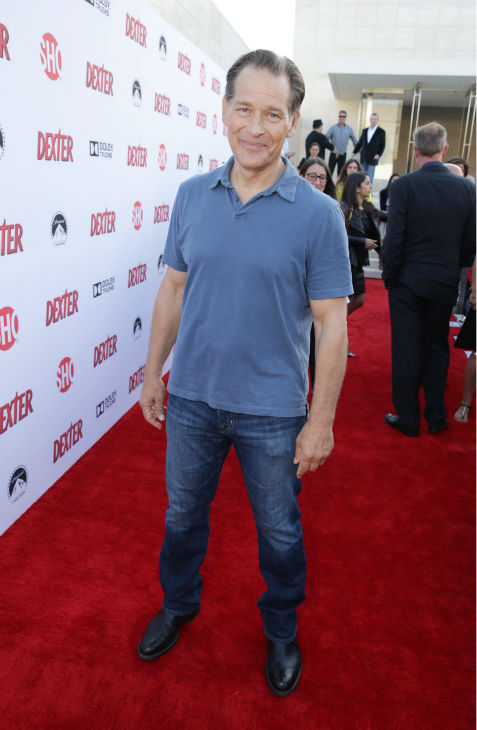 James Remar &#40;Harry, seasons 1-8&#41; appears at Showtime&#39;s premiere of &#39;Dexter&#39; season 8 in Los Angeles on June, 15, 2013. <span class=meta>(Eric Charbonneau &#47; Invision for Showtime)</span>