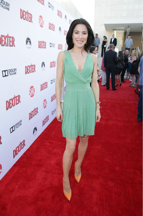 Jaime Murray &#40;Lila, season 2&#41; appears at Showtime&#39;s premiere of &#39;Dexter&#39; season 8 in Los Angeles on June, 15, 2013. <span class=meta>(Eric Charbonneau &#47; Invision for Showtime)</span>
