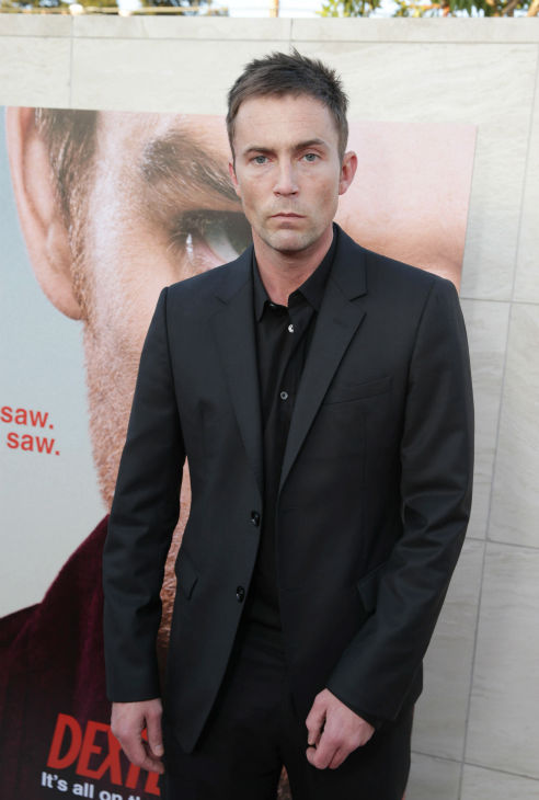 "<div class=""meta ""><span class=""caption-text "">Desmond Harrington (Quinn, seasons 3-8) appears at Showtime's premiere of 'Dexter' season 8 in Los Angeles on June, 15, 2013. (Eric Charbonneau / Invision for Showtime)</span></div>"