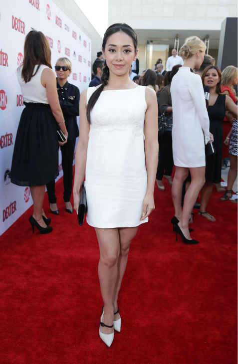 "<div class=""meta image-caption""><div class=""origin-logo origin-image ""><span></span></div><span class=""caption-text"">Aimee Garcia (Jamie, seasons 6-8) appears at Showtime's premiere of 'Dexter' season 8 in Los Angeles on June, 15, 2013. (Eric Charbonneau / Invision for Showtime)</span></div>"