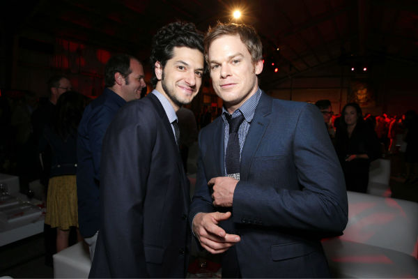 Ben Schwartz and Michael C. Hall &#40;Dexter, seasons 1-8&#41; appear at Showtime&#39;s premiere of &#39;Dexter&#39; season 8 in Los Angeles on June, 15, 2013. Schwartz, who stars in the cable channel&#39;s series &#39;House of Lies&#39;, and Hall once filmed a &#39;Dexter&#39; parody video. <span class=meta>(Eric Charbonneau &#47; Invision for Showtime)</span>