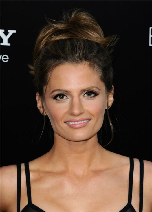"<div class=""meta ""><span class=""caption-text "">Stana Katic of ABC's 'Castle' attends the premiere of 'Elysium' in Los Angeles on Aug. 7, 2013. (Sara De Boer / startraksphoto.com)</span></div>"