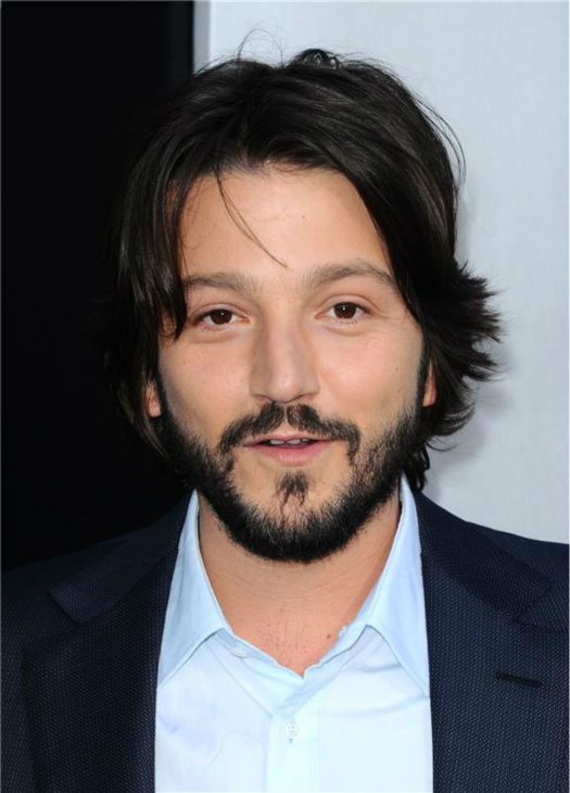 Cast member Diego Luna attends the premiere of 'Elysium' in Los Angeles on Aug. 7, 2013.