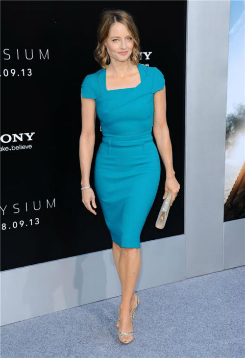 Cast member Jodie Foster attends the premiere of &#39;Elysium&#39; in Los Angeles on Aug. 7, 2013. <span class=meta>(Sara De Boer &#47; startraksphoto.com)</span>