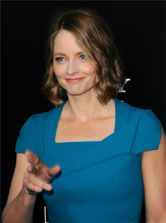Cast member Jodie Foster attends the premiere of 'Elysium' in Los Angeles on Aug. 7, 2013.