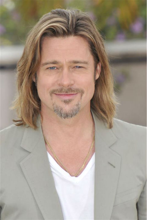 Brad Pitt attends a photo call for &#39;Killing Them Softly&#39; at the Cannes Film Festival in Cannes, France on May 22, 2013. <span class=meta>(DT  &#47; Startraksphoto.com)</span>
