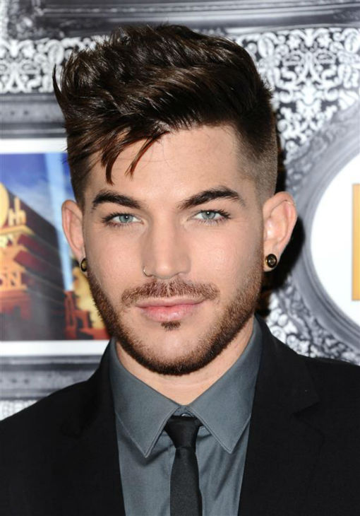"<div class=""meta image-caption""><div class=""origin-logo origin-image ""><span></span></div><span class=""caption-text"">Adam Lambert appear sat the Family Equality Council's Los Angeles Awards Dinner on Feb. 8, 2014. (Sara De Boer / Startraksphoto.com)</span></div>"