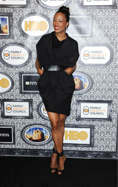 "<div class=""meta image-caption""><div class=""origin-logo origin-image ""><span></span></div><span class=""caption-text"">Aisha tyler (CBS' 'The Talk,' FX's 'Archer') appears at the Family Equality Council's Los Angeles Awards Dinner on Feb. 8, 2014. (Sara De Boer / Startraksphoto.com)</span></div>"