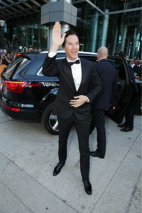 Benedict Cumberbatch appears at the premiere of his new film 'The Fifth Estate' at the 2013 Toronto International Film Festival in Toronto on Sept. 5, 2013.