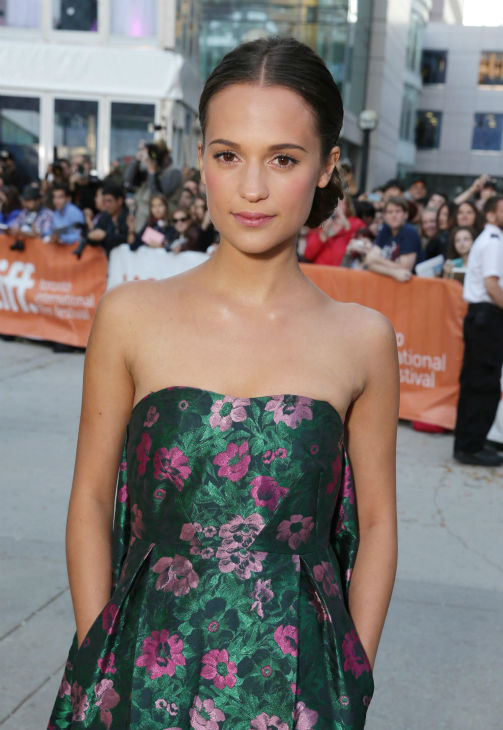 "<div class=""meta image-caption""><div class=""origin-logo origin-image ""><span></span></div><span class=""caption-text"">Cast member Alicia Vikander appears at the premiere of 'The Fifth Estate' at the 2013 Toronto International Film Festival in Toronto on Sept. 5, 2013. (Eric Charbonneau / Invision for DreamWorks Pictures / AP Images)</span></div>"