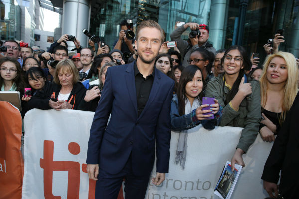 "<div class=""meta image-caption""><div class=""origin-logo origin-image ""><span></span></div><span class=""caption-text"">Cast member and 'Downton Abbey' actor Dan Stevens poses with fans at the premiere of 'The Fifth Estate' at the 2013 Toronto International Film Festival in Toronto on Sept. 5, 2013. (Eric Charbonneau / Invision for DreamWorks Pictures / AP Images)</span></div>"
