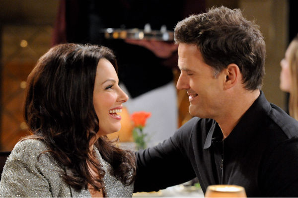 Fran Drescher and D.W. Moffett appear in a still from &#39;Happily Divorced,&#39; which premieres on TV Land on June 15. <span class=meta>(TV Land)</span>