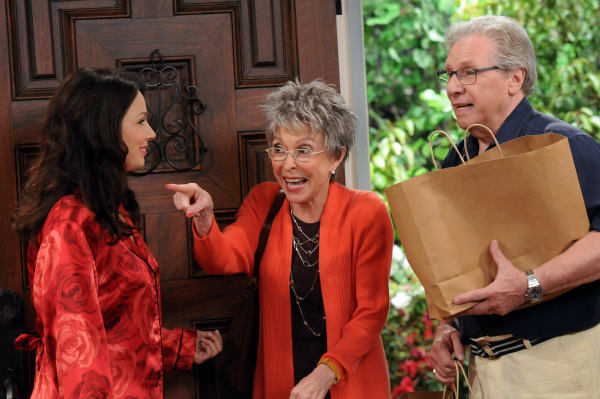 "<div class=""meta image-caption""><div class=""origin-logo origin-image ""><span></span></div><span class=""caption-text"">Fran Drescher, Rita Moreno and Robert Walden appear in a still from 'Happily Divorced,' which premieres on TV Land on June 15. (TV Land)</span></div>"