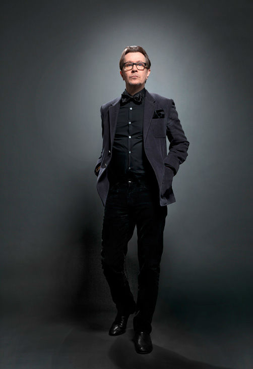 Gary Oldman, who is an Academy Award Nominee for 'Actor in a Leading Role' for his work in 'Tinker Tailor Soldier Spy,' appears in a portrait taken by Douglas Kirkland on February 6, 2012.
