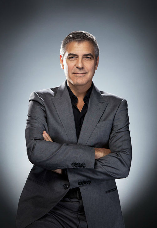 George Clooney, who is an Academy Award Nominee for 'Actor in a Leading Role' for his work in 'The Descendants,' appears in a portrait taken by Douglas Kirkland on February 6, 2012.