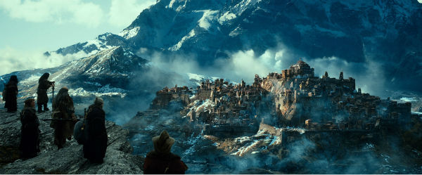 A scene from New Line Cinema's and Metro-Goldwyn-Mayer's fantasy adventure 'The Hobbit: The Desolation of Smaug,' a Warner Bros. Pictures release.