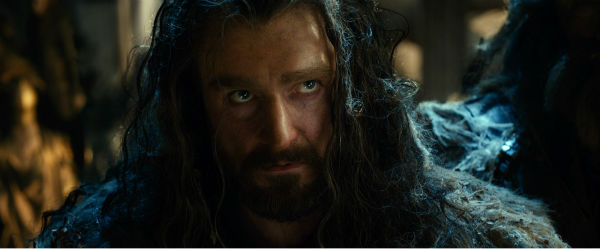 Richard Armitage appears as Thorin Oakenshield in New Line Cinema's and Metro-Goldwyn-Mayer's fantasy adventure 'The Hobbit: The Desolation of Smaug,' a Warner Bros. Pict