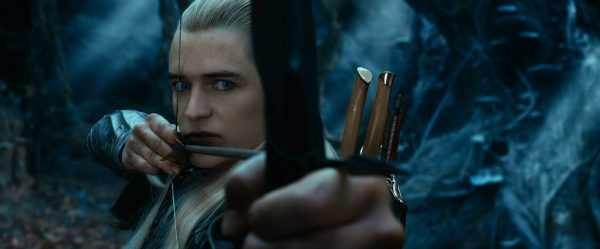 Orlando Bloom appears as Legolas in New Line Cinema's and Metro-Goldwyn-Mayer's fantasy adventure 'The Hobbit: The Desolation of Smaug,' a Warner Bros. Pictures release.