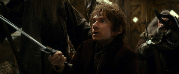 Martin Freeman appears as the Hobbit Bilbo Baggins in New Line Cinema's and Metro-Goldwyn-Mayer's fantasy adventure 'The Hobbit: The Desolation of Smaug,' a Warner Bros. Pictures release.