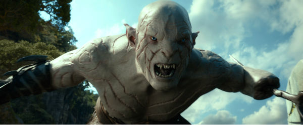 The character Azog appears in New Line Cinema&#39;s and Metro-Goldwyn-Mayer&#39;s fantasy adventure &#39;The Hobbit: The Desolation of Smaug,&#39; a Warner Bros. Pictures release. <span class=meta>(Mark Pokorny &#47; Warner Bros. Pictures)</span>