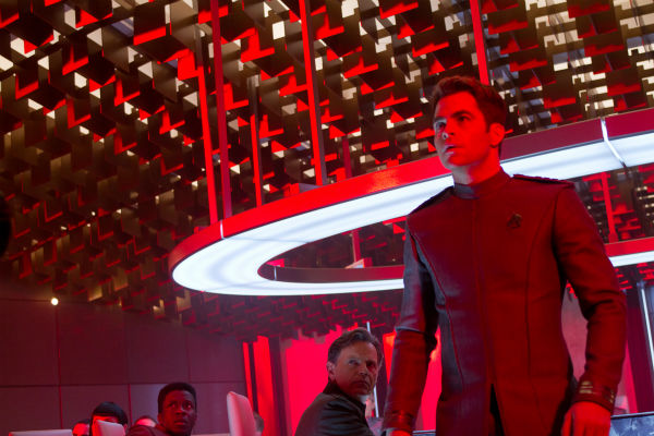 "<div class=""meta ""><span class=""caption-text "">Chris Pine (Kirk) and Bruce Greenwood (Pike) appear in a scene from the 2013 film 'Star Trek Into Darkness.' (Zade Rosenthal / Paramount Pictures)</span></div>"