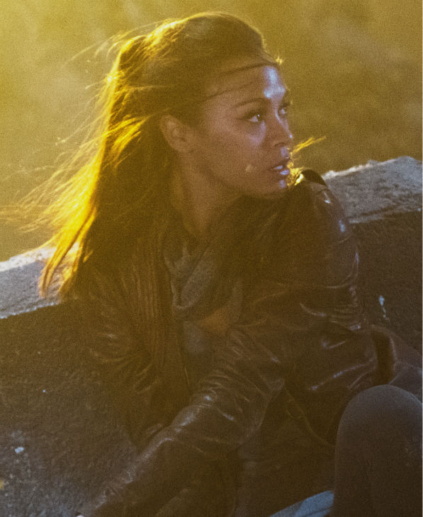 Zoe Saldana &#40;Uhura&#41; appears in a scene from the 2013 film &#39;Star Trek Into Darkness.&#39; <span class=meta>(Zade Rosenthal &#47; Paramount Pictures)</span>