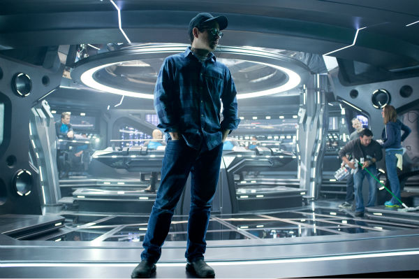 "<div class=""meta ""><span class=""caption-text "">Director J.J. Abrams stands on the set of the 2013 film 'Star Trek Into Darkness.' (Zade Rosenthal / Paramount Pictures)</span></div>"