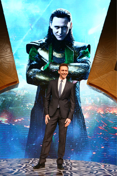 Tom Hiddleston, who plays Loki in &#39;Thor: The Dark World,&#39; appears at a fan event for the film in Beijing, China on Oct. 11, 2013. <span class=meta>(Walt Disney Studios)</span>