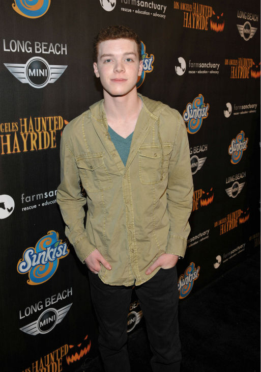 Cameron Monaghan of the Showtime series &#39;Shameless&#39; attends the 4th Annual Los Angeles Haunted Hayride VIP Premiere Night held at Griffith Park on Sunday, Oct. 7, 2012. <span class=meta>(John Shearer&#47;Invision for LAHH&#47;AP Images)</span>