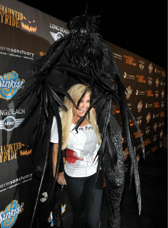 Bridget Marquardt attends the 4th Annual Los Angeles Haunted Hayride VIP Premiere Night held at Griffith Park on Sunday, Oct. 7, 2012. <span class=meta>(John Shearer&#47;Invision for LAHH&#47;AP Images)</span>