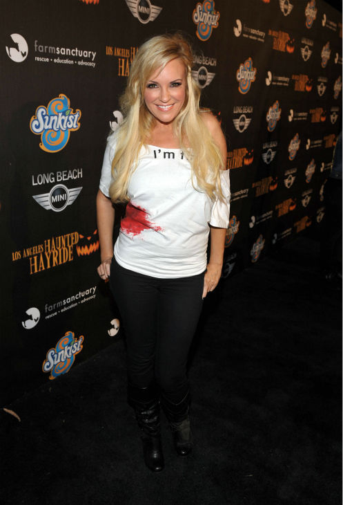 Bridget Marquardt attends the 4th Annual Los Angeles Haunted Hayride VIP Premiere Night held at Griffith Park on Sunday, Oct. 7, 2012.