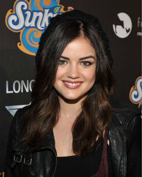 "<div class=""meta image-caption""><div class=""origin-logo origin-image ""><span></span></div><span class=""caption-text"">Lucy Hale attends the 4th Annual Los Angeles Haunted Hayride VIP Premiere Night held at Griffith Park on Sunday, Oct. 7, 2012. (John Shearer/Invision for LAHH/AP Images)</span></div>"