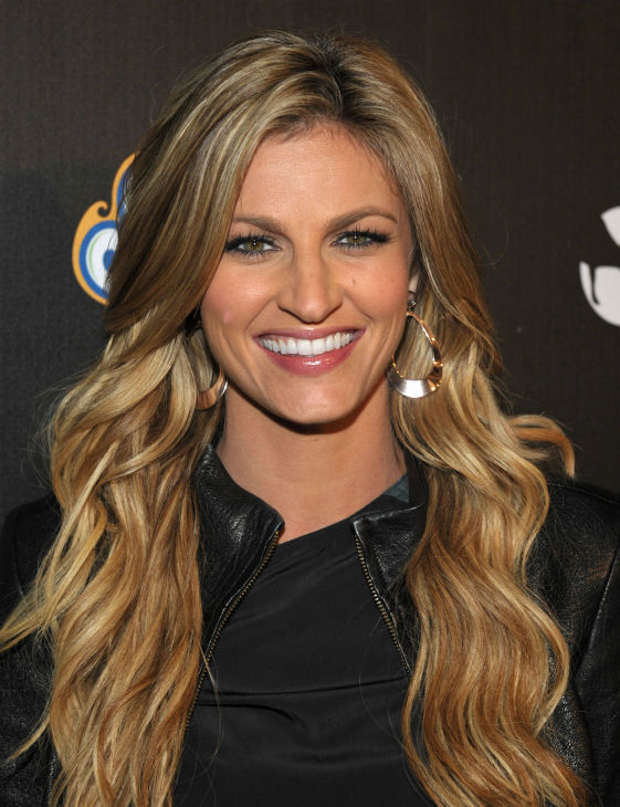 Erin Andrews attends the 4th Annual Los Angeles Haunted Hayride VIP Premiere Night held at Griffith Park on Sunday, Oct. 7, 2012. <span class=meta>(John Shearer&#47;Invision for LAHH&#47;AP Images)</span>