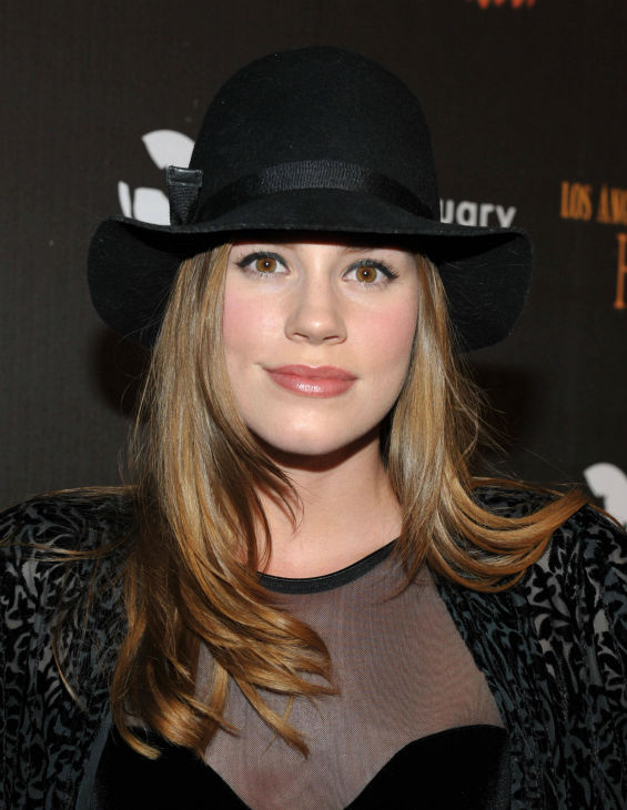 Christa B. Allen of &#39;Revenge&#39; attends the 4th Annual Los Angeles Haunted Hayride VIP Premiere Night held at Griffith Park on Sunday, Oct. 7, 2012. <span class=meta>(John Shearer&#47;Invision for LAHH&#47;AP Images)</span>