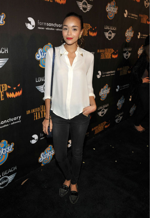 "<div class=""meta ""><span class=""caption-text "">Ashley Madekwe of 'Revenge' attends the 4th Annual Los Angeles Haunted Hayride VIP Premiere Night held at Griffith Park on Sunday, Oct. 7, 2012. (John Shearer/Invision for LAHH/AP Images)</span></div>"