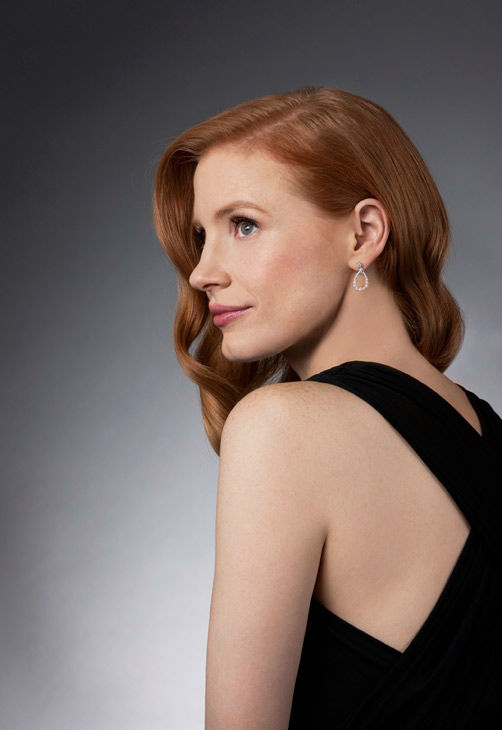 Jessica Chastain, who is an Academy Award Nominee for 'Actress in a Supporting Role' for her work in 'The Help,' appears in a portrait taken by Douglas Kirkland on February 6, 2012.