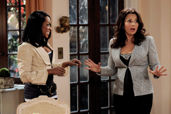 Tichinia Arnold and Fran Drescher appear in a still from &#39;Happily Divorced,&#39; which premieres on TV Land on June 15. <span class=meta>(TV Land)</span>