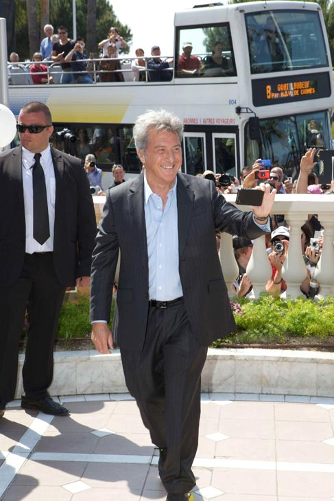 Dustin Hoffman (Shifu) dazzles the crowds at a...
