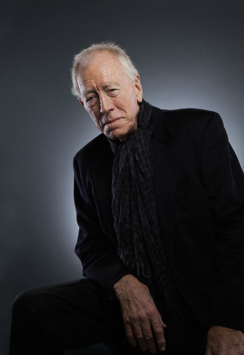 Max Von Sydow, who is an Academy Award Nominee for 'Actor in a Supporting Role' for his work in 'Extremely Loud and Incredibly Close,' appears in a portrait taken by Douglas Kirkland on February 6, 2012.