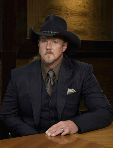 Trace Adkins appears in an official publicity photo for &#39;All-Stars Celebrity Apprentice,&#39; which premieres on NBC in 2013.  The country star came in second place in season 7 in 2008. <span class=meta>(NBC Photo &#47; Justin Stephens)</span>