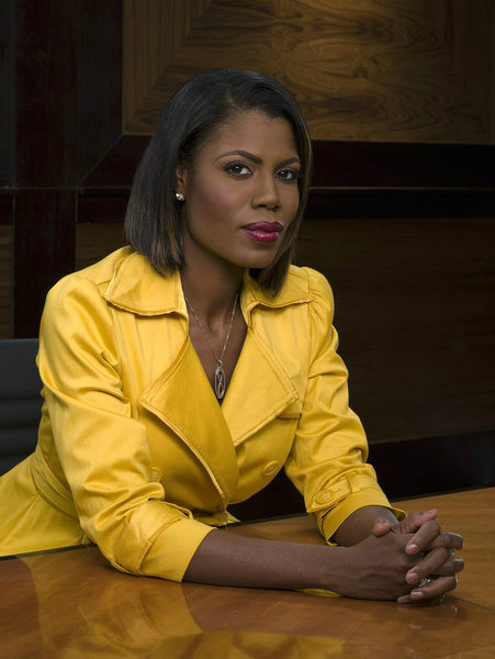 Omarosa appears in an official publicity photo...