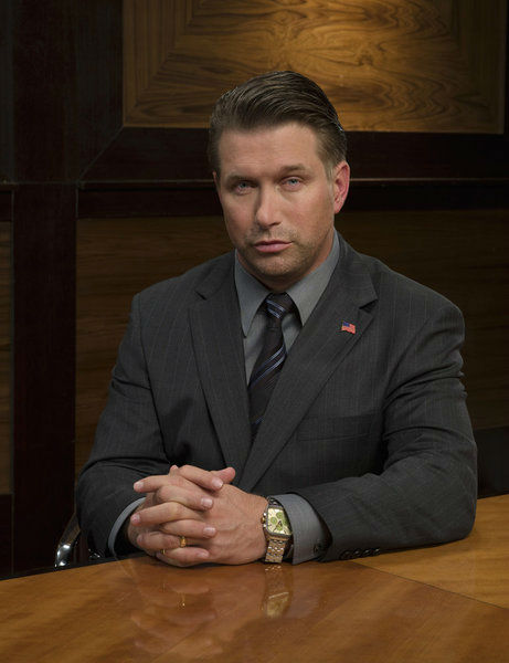 Stephen Baldwin appears in an official publicity photo for 'All-Stars Celebrity Apprentice,' which premieres on NBC in 2013.