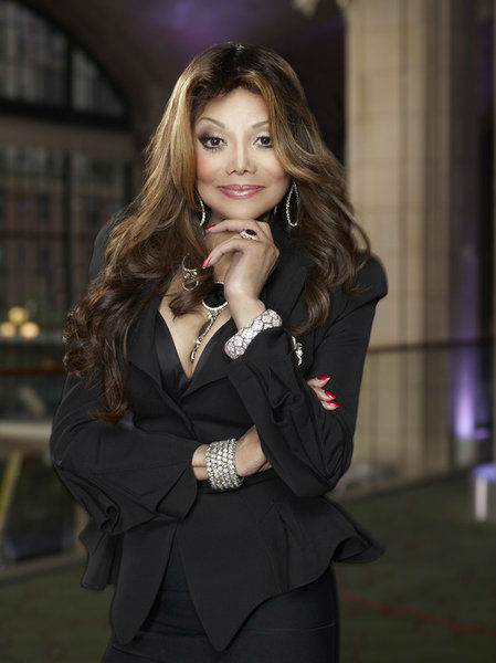La Toya Jackson appears in an official publicity photo for 'All-Stars Celebrity Apprentice,' which premieres on NBC in 2013.