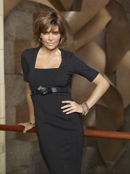 "<div class=""meta ""><span class=""caption-text "">Lisa Rinna appears in an official publicity photo for 'All-Stars Celebrity Apprentice,' which premieres on NBC in 2013.  The actress came in 15th place in season 11 in 2011. (NBC Photo / Virginia Sherwood)</span></div>"
