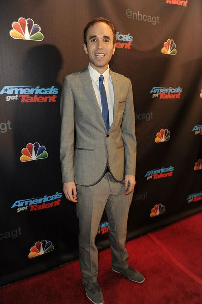"<div class=""meta image-caption""><div class=""origin-logo origin-image ""><span></span></div><span class=""caption-text"">'America's Got Talent' season 8 runner-up and comedian Taylor Williamson poses on the red carpet after the season 8 finale at Radio City Music Hall in New York on Sept. 18, 2013. (Lucien Sims / NBC)</span></div>"