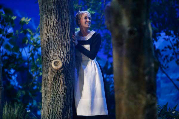 Carrie Underwood as Maria appears in a photo from 'The Sound of Music Live!' rehearsal. The show airs on Dec. 5, 2013.